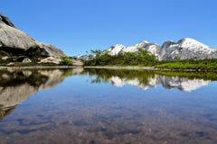 Красивая Патагония, радужка Arco, Cochamo, Чили Стоковые Фотографии RF