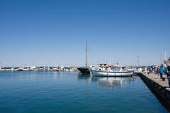 Красивая погода в море Стоковая Фотография
