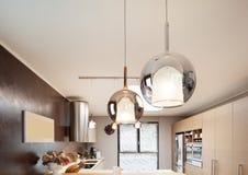 Красивая поставленная квартира Стоковая Фотография RF
