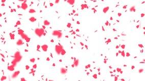 Красивая предпосылка дня ` s валентинки видеоматериал