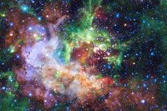 Красивая предпосылка космоса Искусство Cosmoc r иллюстрация вектора
