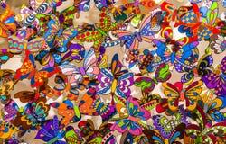 Красивая предпосылка бабочки предпосылки бабочки Стоковая Фотография RF