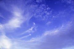Красивая предпосылка голубого неба стоковые фото