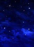 Красивая предпосылка, еженощное небо Стоковая Фотография