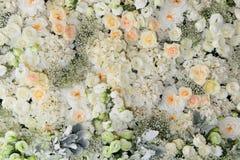 Красивая предпосылка цветков для wedding Стоковые Фото