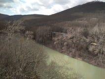 Красивая природа в горах стоковое изображение