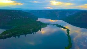 Красивая природа острова Mljet во взгляде глаза птицы Хорватии Хорватии, Европы 2019 стоковые фотографии rf