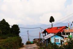 Красивая природа станции холма стоковая фотография rf