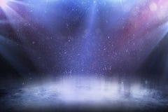 Красивая пустая зима стоковые изображения