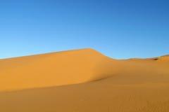 Красивая пустыня песка стоковые фотографии rf