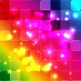 Красивая радуга формирует иллюстрацию вектора цвета Бесплатная Иллюстрация