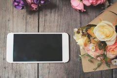 Красивая роза искусственных цветков Стоковое Фото
