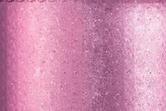 Красивая розовая поздравительная открытка золота специально для дня валентинок и новых пар свадьбы Стоковые Изображения