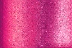 Красивая розовая поздравительная открытка золота специально для дня валентинок и новых пар свадьбы Стоковая Фотография RF