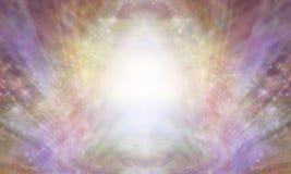Красивая священная заживление светлая предпосылка Стоковые Фото