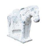 Красивая скульптура лошади сделанная конкретного, китайского стиля, Стоковая Фотография