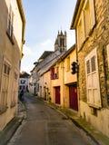 Красивая старая улица стоковое изображение rf