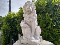 Красивая статуя стоковые изображения rf