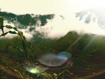 Красивая сцена в Вьетнаме Стоковое Изображение