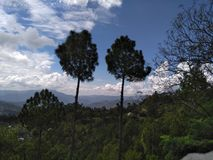 Красивая сцена Кашмира стоковое фото rf