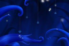 Красивая сцена ночи Стоковое Изображение