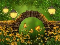Красивая сцена сказки Стоковое Фото