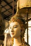 Красивая тайская скульптура стиля Стоковые Фото