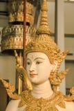 Красивая тайская скульптура стиля Стоковые Изображения RF