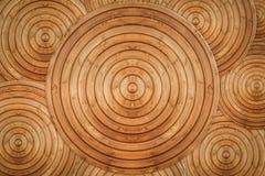 Красивая текстура деревянных колец Стоковая Фотография