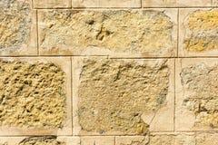 Красивая текстура старых каменных стен Стоковое Фото