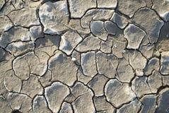 Красивая текстура сухой глины стоковая фотография