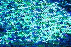 Красивая текстура sequins Стоковые Фото