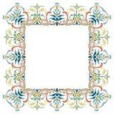 Красивая текстурированная рамка границы Стоковое Изображение