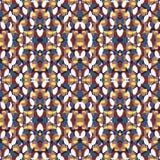 Красивая темная абстрактная геометрическая иллюстрация вектора предпосылки Стоковое Изображение RF