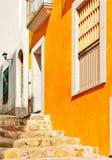 Красивая тихая улица, Испания стоковые фотографии rf