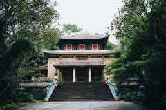 красивая традиционная восточная архитектура в Ho хие стоковые изображения