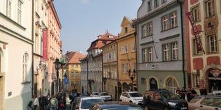 Красивая улица стоковое фото rf