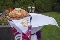 Красивая установка свадьбы Стоковые Фото