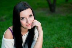 Красивая улыбка женщины Стоковая Фотография RF