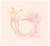 Красивая фея Стоковое Фото