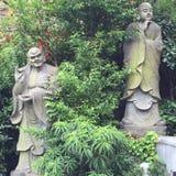 Красивая фотография ландшафта камень carvings восхитительный Деревянный высекать стоковое изображение