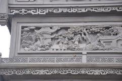 Красивая фотография ландшафта камень carvings восхитительный стоковое изображение rf