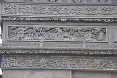 Красивая фотография ландшафта камень carvings восхитительный стоковые фотографии rf
