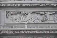 Красивая фотография ландшафта камень carvings восхитительный стоковое фото