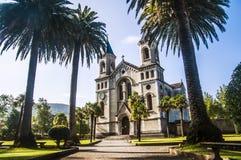 Красивая церковь в Испании стоковое изображение