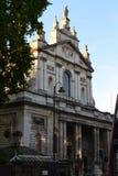 Красивая церковь в Лондоне, южном Kensington Стоковые Фото