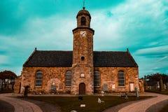 Красивая церковь в Шотландии Стоковое Изображение