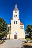 Красивая церковь - Vrbice, чехия Стоковые Фотографии RF