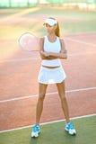 Красивая элегантная девушка брюнет Стоковая Фотография RF