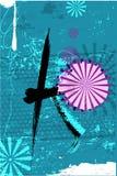 Красивая японская предпосылка установила (часть 3 4) Стоковая Фотография RF